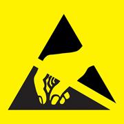 ESD Suceptibility Symbol