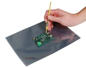 Shielding Bags are no ESD Worksurface