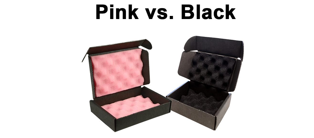 Pink Foam vs. Black Foam