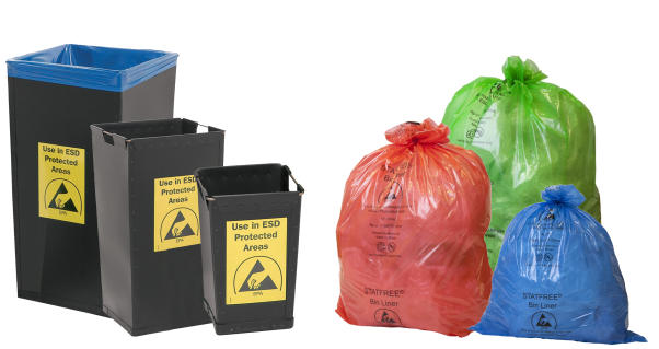 Examples of Waste Bins and Bin Liners