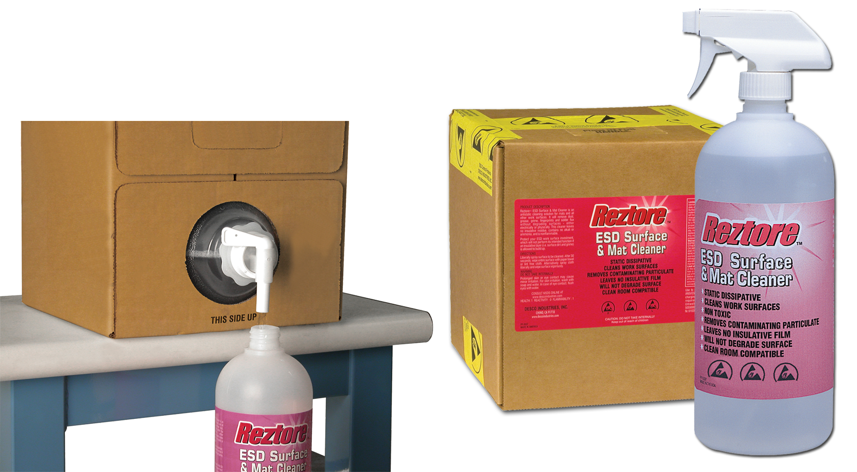 Reztore ESD Surface & Mat Cleaner