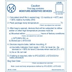 The Moisture Sensitive Level (MSL) label