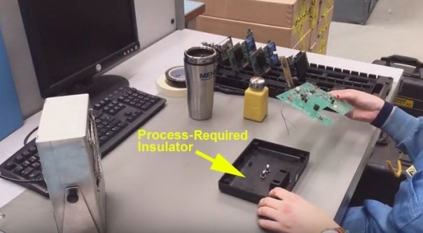 Electronic enclosures are process-essential insulators